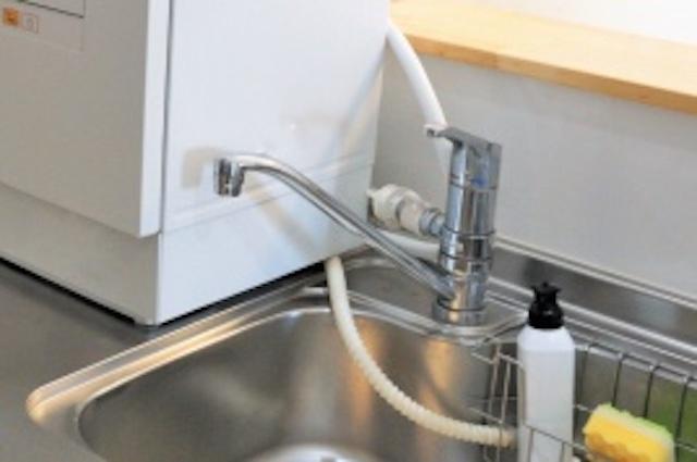 分岐水栓式食洗機