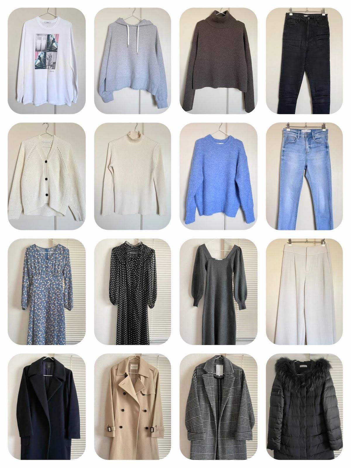 30代女性ミニマリストの2020年冬服